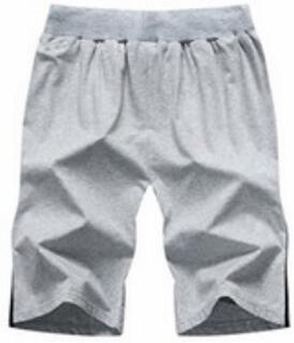 UUYUK Men 2 Pieces Outfits Summer Sport Running Trainning T-Shirt Shorts Tracksuits