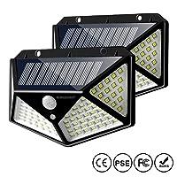 Deals on IC ICLOVER Solar Motion Sensor Lights Outdoor