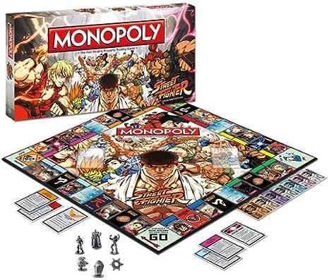 Usaopoly – Monopoly Street Fighter: Amazon.es: Juguetes y juegos