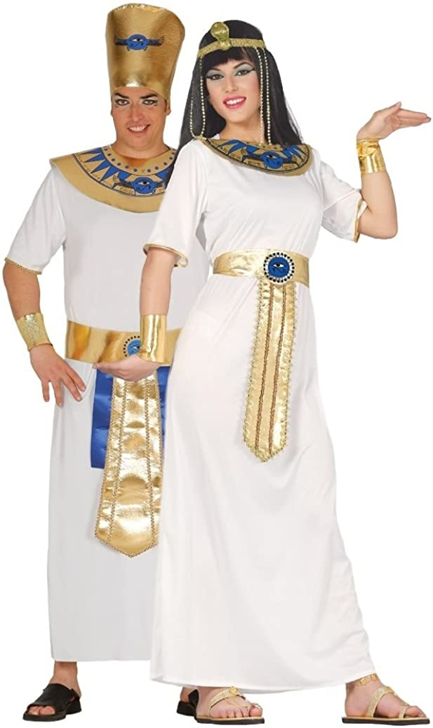 LADIES EGYPTIAN QUEEN CLEOPATRA ANCIENT EGYPT HISTORICAL FANCY DRESS COSTUME