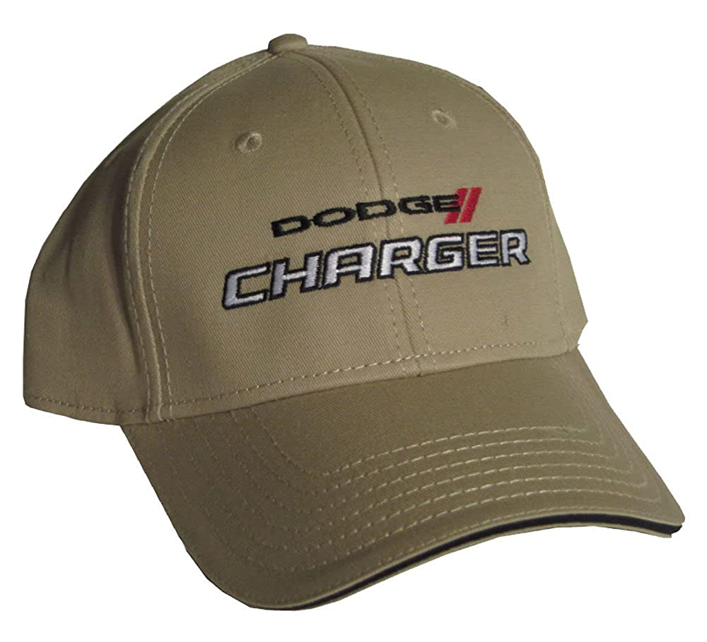 Gregs Automotive Dodge Charger Hat Tan Bundle with Driving Style Decal 242TN