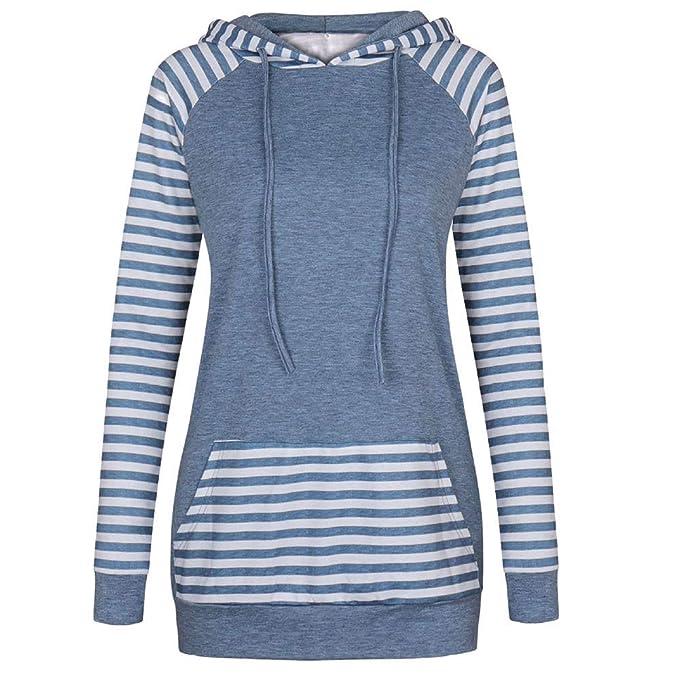 Camisas Mujer, BBestseller Otoño e Invierno Blusas para Mujer Vaquera Sexy Tops Camisetas Mujer Raya