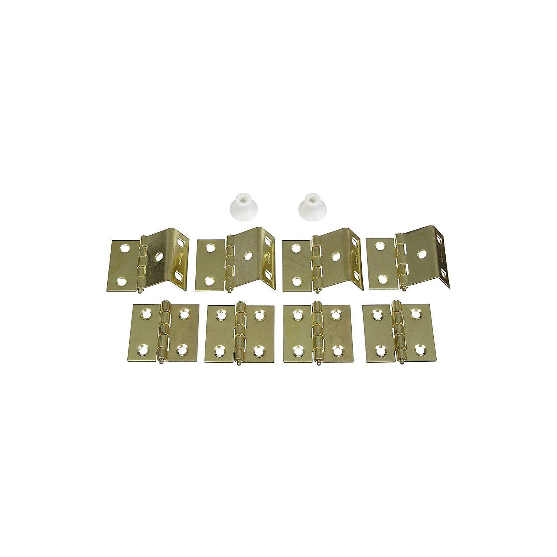 National #N269-860 Brass Shutter Hinge Kit