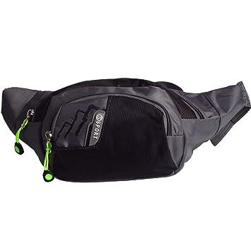 Unisex Pockets Cool Pug Fanny Pack Waist//Bum Bag Adjustable s Running Cycling Fishing Sport Waist Bags Black