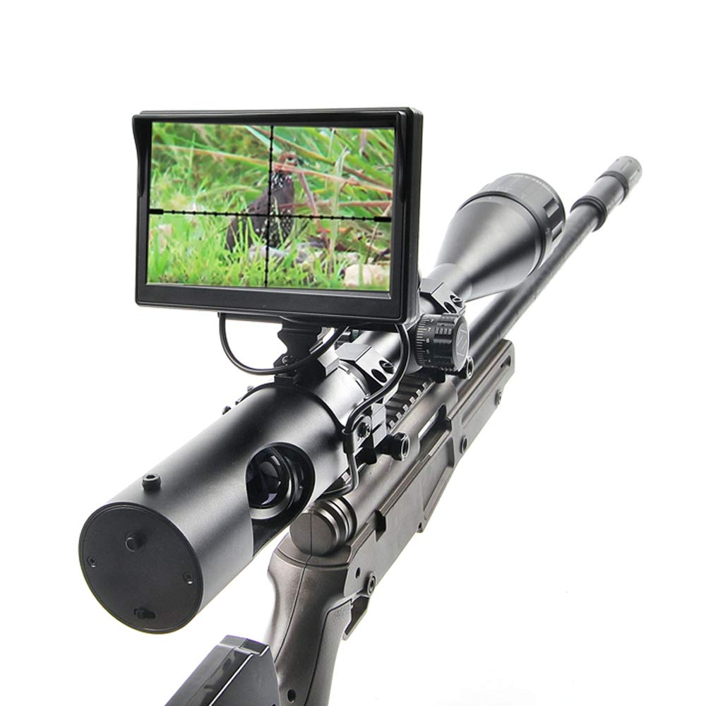 Digital Night Vision Scope for Rifle Hunting with Camera and 5'' Portable Display Screen by bestsight (Image #3)