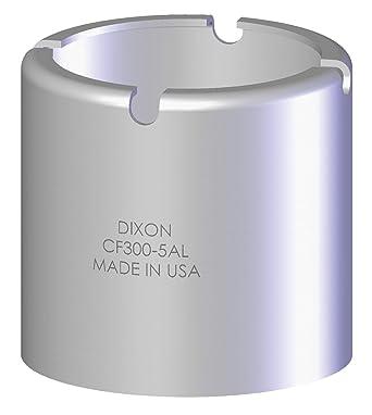 Dixon CF125-6CS 1-1//4 ID CS Crimp Style Ferrule 1.938 ID 1-53//64 to 1-56//64 OD
