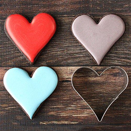 "Ann Clark Cookie Cutters Heart Cookie Cutter, 4"""