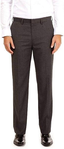 Ages 9-16 Boys Slim Fit School Trousers Black Grey Navy Pants Skinny Adjustable