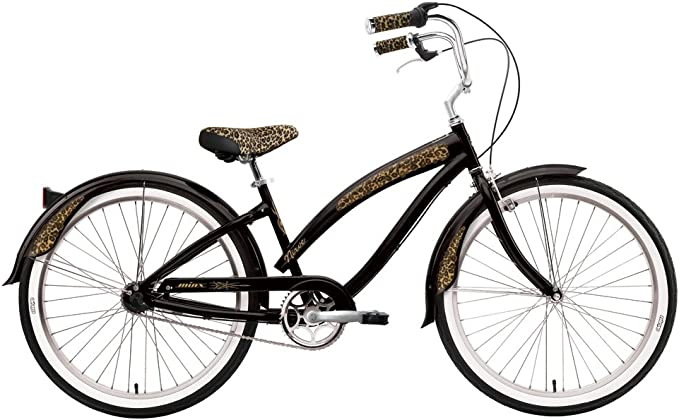 Nirve 3435 - Bicicleta Cruiser para Mujer, Cuadro 16 in, Color ...