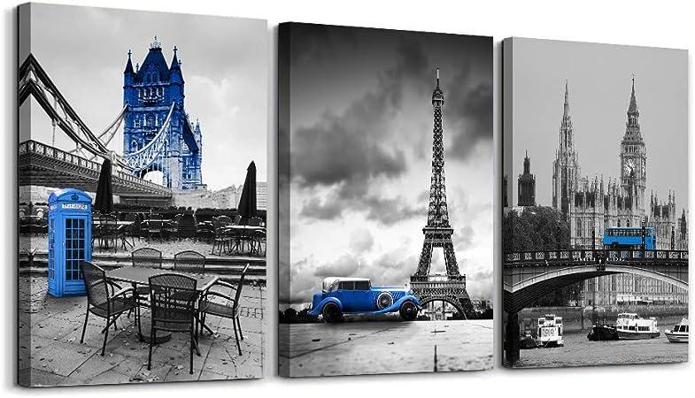Eiffel Tower Canvas Eiffel Tower Photo Eiffel Tower Wall Art Paris Print Paris Skyline Print Paris Wall Decor Paris Wall Art