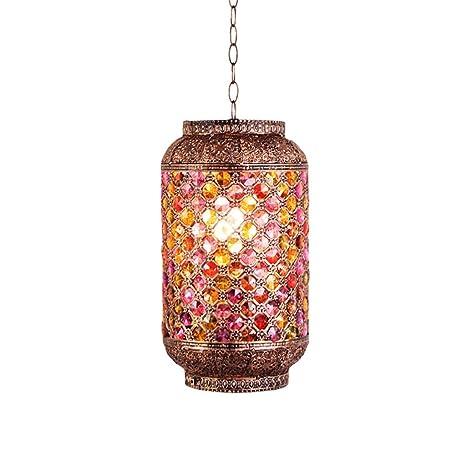 Iluminación colgante Chen Turquía Lámpara de Mano romántica ...