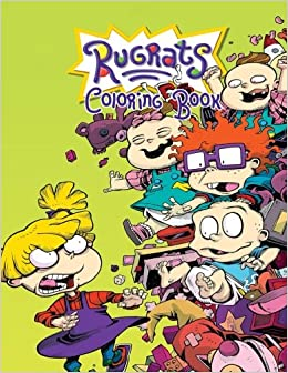 Amazon.com: Rugrats Coloring Book: Coloring Book for Kids and Adults ...