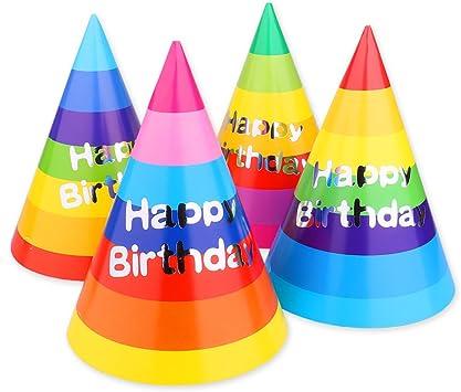 Amazon.com: Azude - Sombreros de cono para fiesta de ...