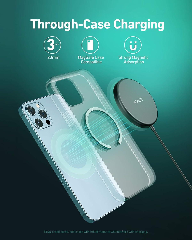 AUKEY Chargeur sans Fil Magn/étique Compatible avec iPhone 12