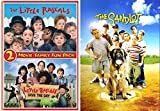 The Sandlot + Little Rascals: 2-Movie Family Fun Pack Save the Day DVD Family 3 Movie favorites Kids Bundle