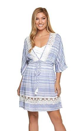 1827542b303d0 Dotti Women s Tassel Talk Tunic Cover-Up at Amazon Women s Clothing ...