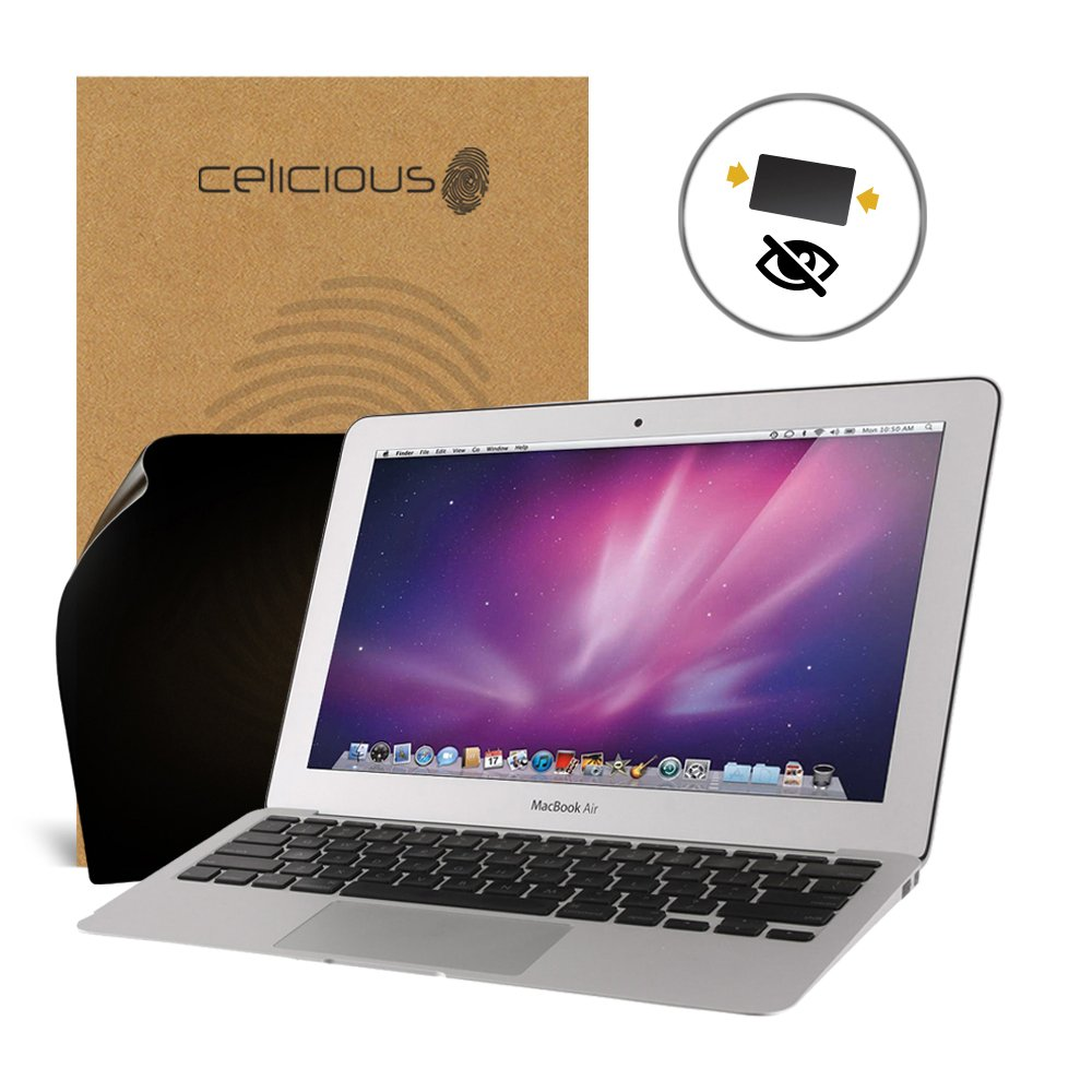 2017 Celicious Privacy 2-Way Anti-Spy Filter Screen Protector Film Compatible with Apple Macbook Pro 13 A1708