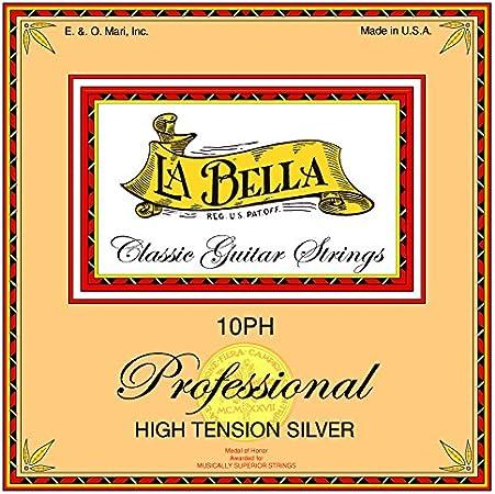 CUERDAS GUITARRA CLASICA - La Bella (10/PH) Profesional Fuerte (Juego Completo)