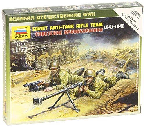 Zvezda Models 1941-1943 Soviet Anti-Tank Team