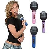 Inflatable Microphones 1 Dozen