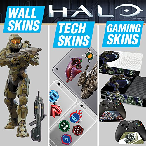 Controller Gear Halo 5 Ultimate Gaming Skin Pack - Officially Licensed by Microsoft - Xbox -