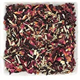 Tealyra - Healing Hibiscus Cocktail - Rooibos - Honeybush - Lemongrass - Ginger - Wellness Herbal Loose Leaf Tea - Caffeine Free - Hot or Iced - 112g (4-ounce)