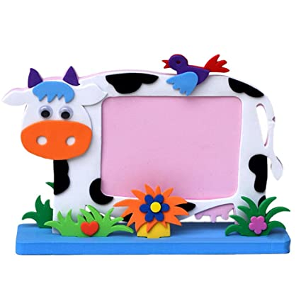 Amazon.com: DIY Toys Frame Foam Craft, Kids Child Creative Activity ...