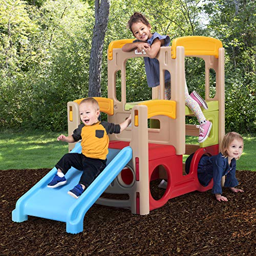 Simplay3 Young Explorers Adventure Climber - Indoor Outdoor Crawl Climb Drive Slide Playset for Children by Simplay3 (Image #2)