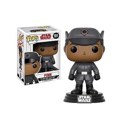 Funko POP! Star Wars: The Last Jedi - Finn - Collectible Figure: Funko Pop! Star Wars:: Toys & Games