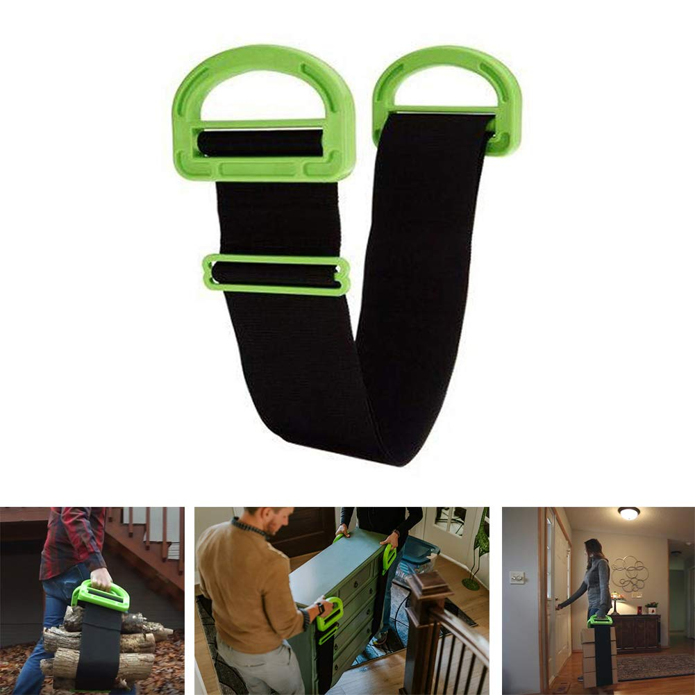 Adjustable Moving and Lifting Straps for Moving Furniture with Handles,Carry Ropes Transport Straps-Easy Move Lift Carry Furniture Appliances Heavy Objects