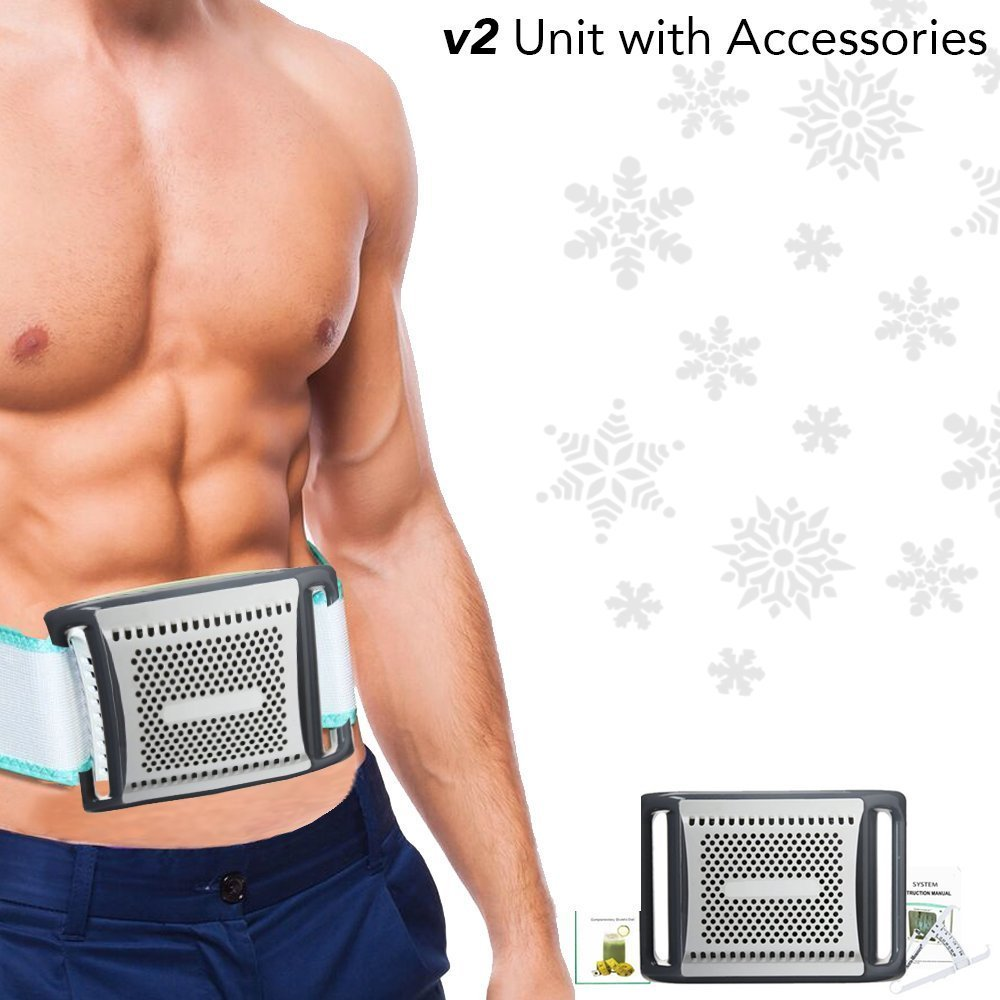 TelSell Ultimate Shape and Freeze Fat Cell Freezing Weight Loss Belt