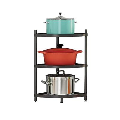Buy 3 Tier Kitchen Corner Shelf Rack Multi Layer Pot Rack For Organizer Cookware Stand Stainless Steel Shelves Holder Online In Turkey B093zvxmbh