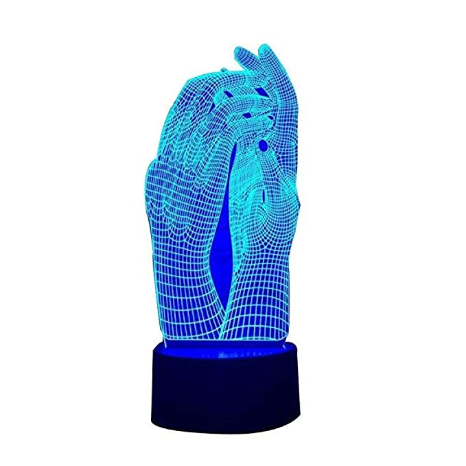 Lámpara 3d wangZJ/Lámpara LED de ilusión 3D / Proyector de ...