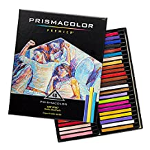 """PRISMACOLOR ART STIX Pencil, Woodless Colored Pencils 3-1/4"""" x 1/4"""" № 1955, Box of 48, Assorted Colours (2165)"""