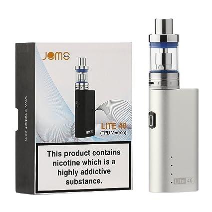 JOMO TECH Lite 40 Cigarrillo Electrónico Modelo clásico en 2200mAh 0.5 Ohm Resistencia E-Cigarrillo