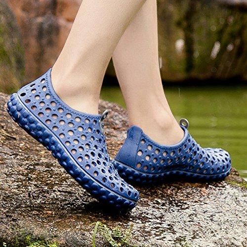 de Sandalias Verano de de Agua rápido jardín Deporte Beach Secado Zapatos Unisex Descalzo Blue de Zapatos de qwYfnvE