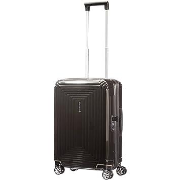 Amazon.com | Samsonite Neopulse Suitcase 4 Wheel Spinner 55cm Cabin Metallic Red | Carry-Ons