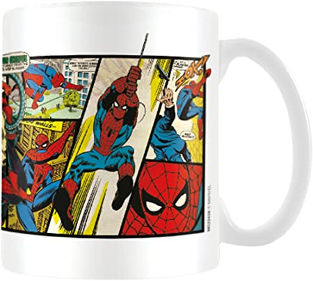Tazza spiderman in ceramica mug spider man MG23438