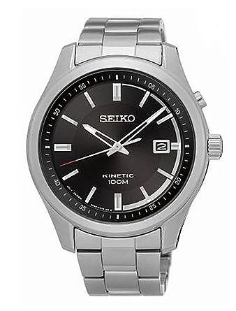 Seiko Reloj Analogico para Hombre de Automático con Correa en Acero Inoxidable SKA719P1: Amazon.es: Relojes