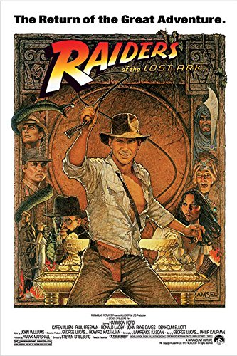 Indiana Jones - Raiders Of The Lost Ark - Movie Poster / Pri