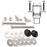 Wolfpack 4100144 schroevenset voor montage van toiletspoelbak T-291