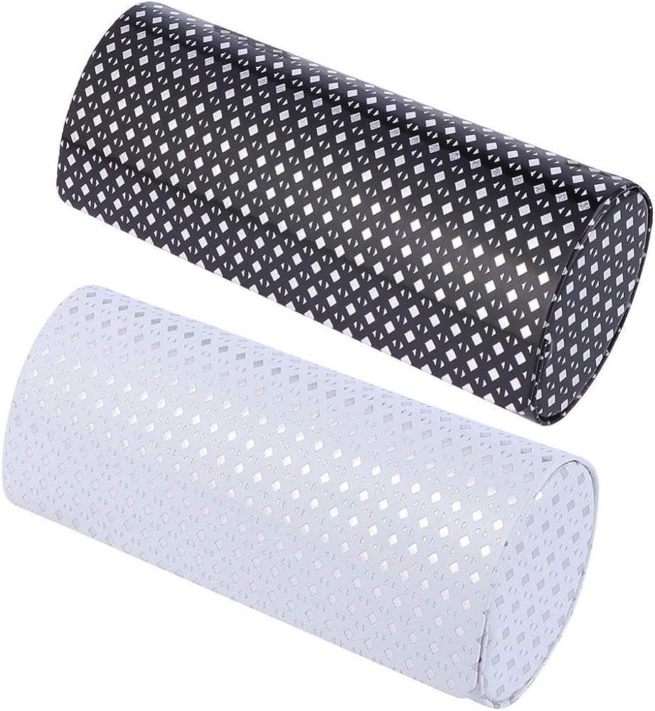 IMIKEYA Estuche de Anteojos Portátil de 2 Piezas para Caja de Anteojos Estuche de Anteojos de Tela para Anteojos (Blanco Y Negro): Amazon.es: Relojes