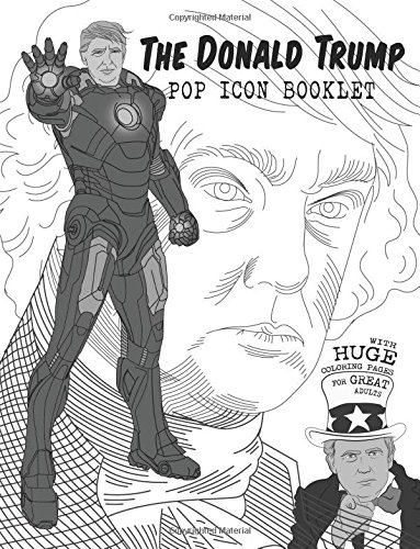 The Donald Trump Pop Icon Booklet with huge Coloring for sale  Delivered anywhere in Canada