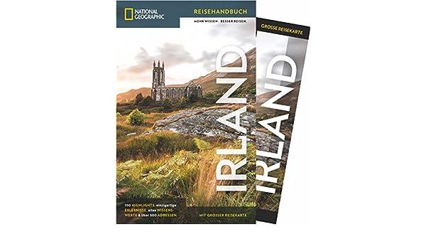 Irland Cliffs Of Moher Karte.National Geographic Reisefuhrer Irland Mit Karte