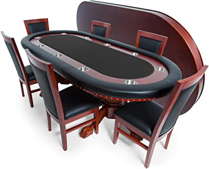 BBO Poker Rockwell Poker Table for 10 Players 94 x 44-Inch Oval