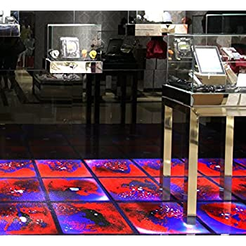 Amazon Com Art3d 6 Piece Liquid Fusion Floor Tile Hard
