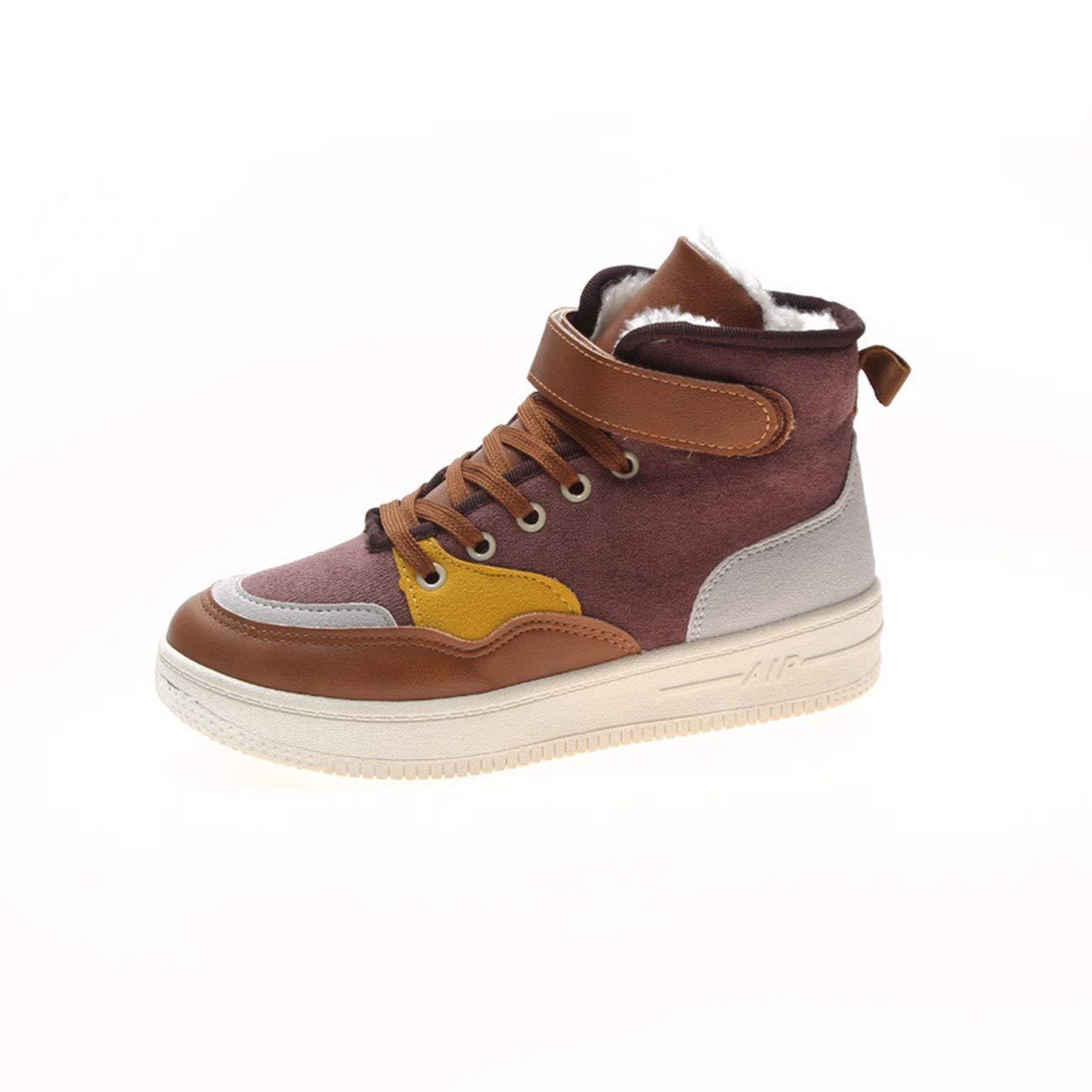 QPGGP-Stiefel Freizeit - Schuhe Herbst Und Winter Hohe Schuhe Frauen Schuhe Europa Und Amerika.