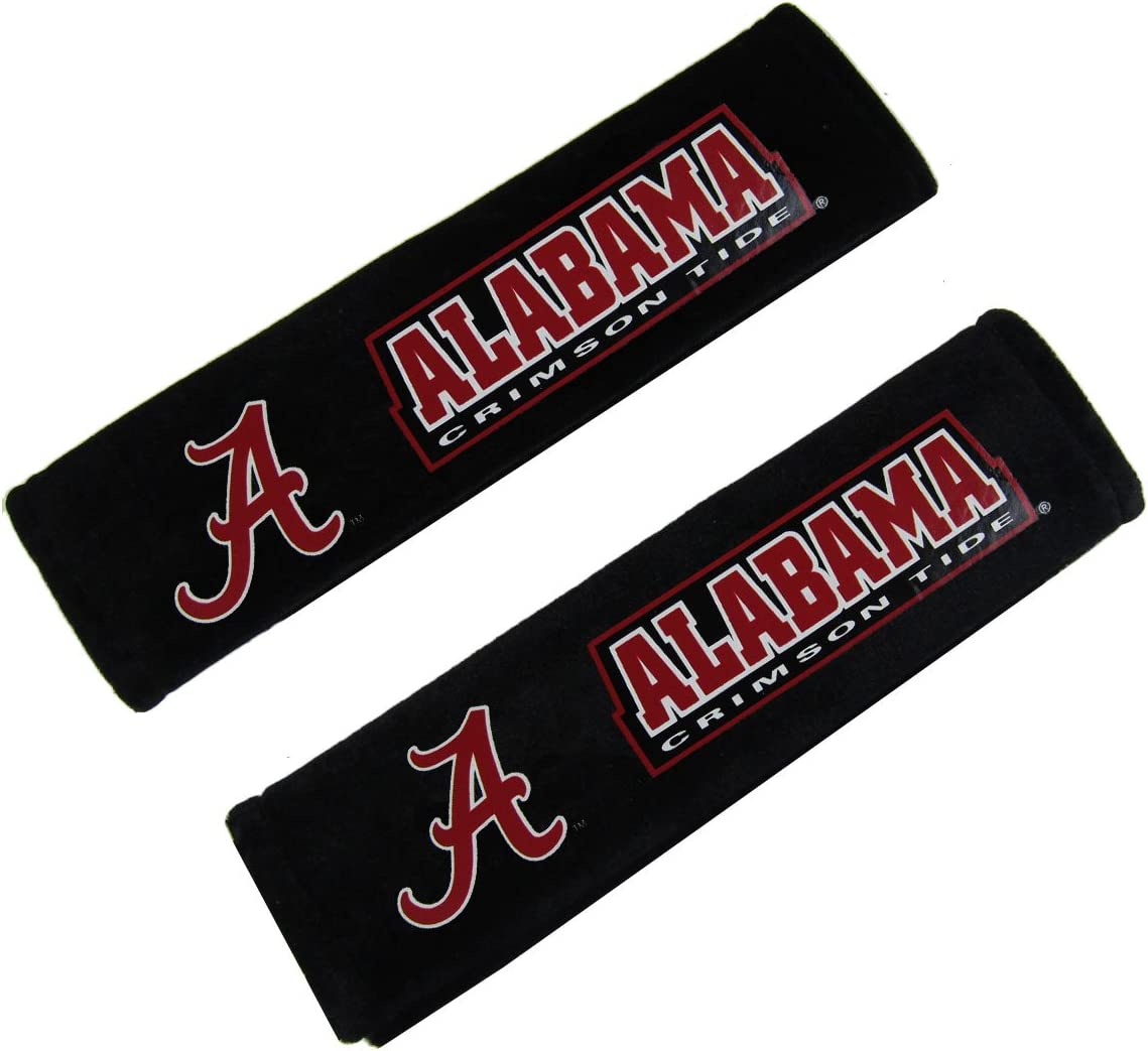 Fremont Die NCAA Velour Seat Belt Pads