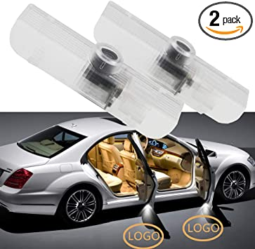 2 Pack Car Door Light Welcome Projector Logo Ghost Shadow Light For Infiniti QX56 2004-2010 JX35 2013-2014 QX60 2014