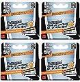 Dorco Pace 4- Four Blade Razor Shaving System- Value Pack